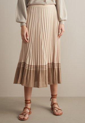A-line skirt - naturale
