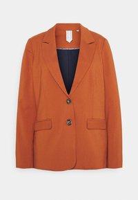 MODERN GIRLFRIEND FIT - Blazer - baked ginger orange
