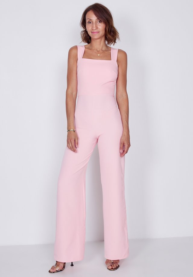 SQUARE STRAPPY - Jumpsuit - pink