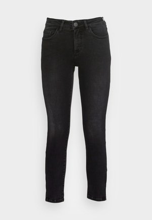 EVITA ZIP - Jeans Skinny - soft washed black