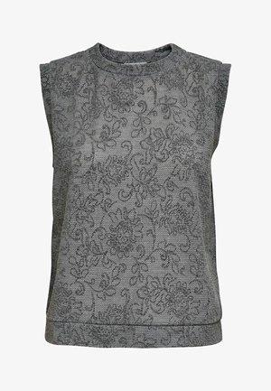 Waistcoat - light grey melange