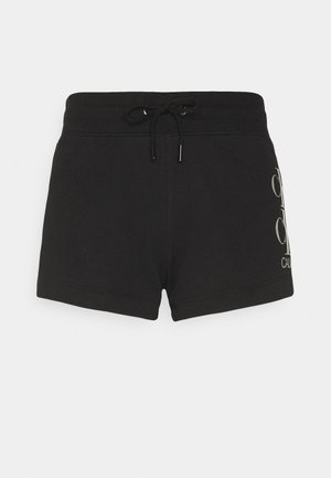 SHINE LOGO SHORT - Shorts - black