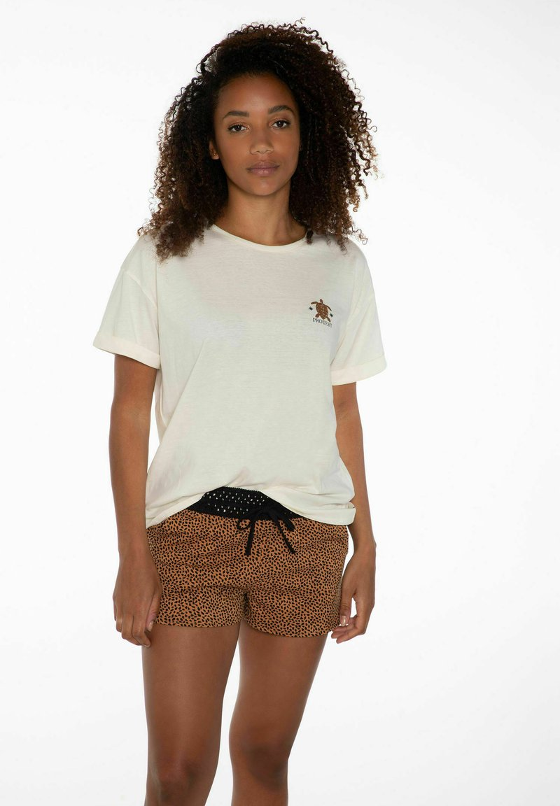Protest - FLOWERY  - Shorts - true black