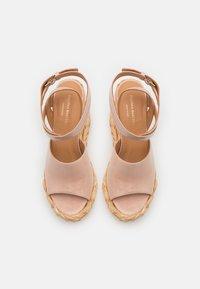 Paloma Barceló - ATUEL - Sandales à talons hauts - light pink - 4