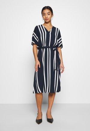 SLFVIENNA SHORT DRESS - Vestito estivo - dark sapphire/snow white