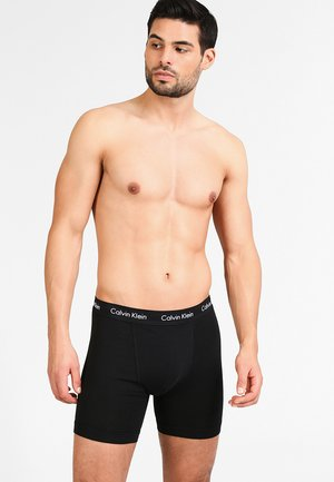 BOXER BRIEF 3 PACK - Onderbroeken - black