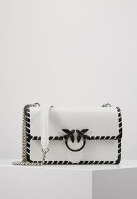 Pinko - LOVE CLASSIC TWIST VINTAGE - Across body bag - bianco/nero - 0