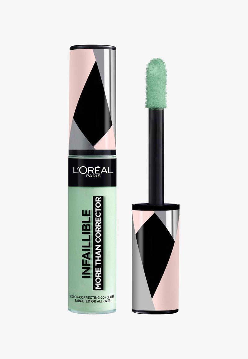 L'Oréal Paris - INFAILLIBLE MORE THAN CORRECTOR - Concealer - 01 green