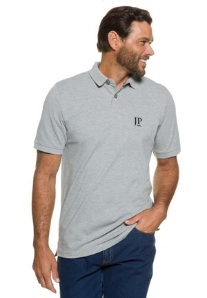 2 PACK - Polo shirt - grey/navy