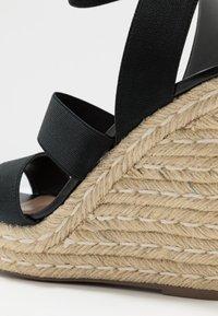 Steve Madden - SHIMMY - High heeled sandals - black - 2
