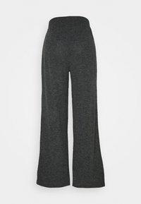 ONLY - ONLKAYLEE PANTS - Trousers - dark grey melange - 1