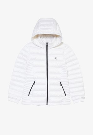 FITTED LIGHT JACKET - Bunda z prachového peří - white