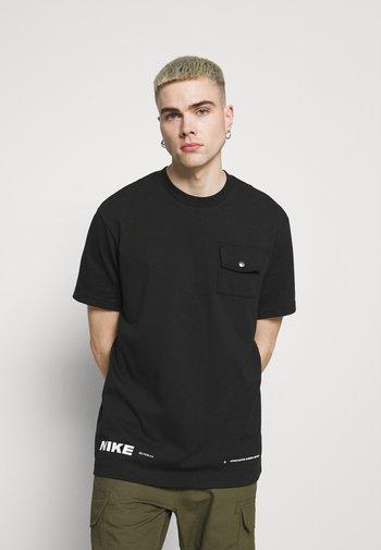 CITY MADE  - T-shirt - bas - black
