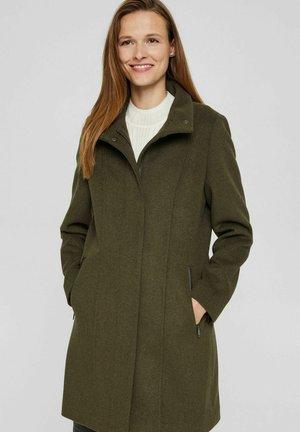 Classic coat - dark khaki