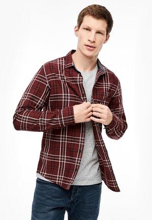 GERUIT - Shirt - dark red