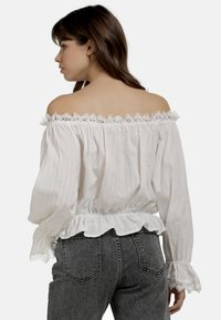 myMo - BLUSE - Blouse - weiss - 2