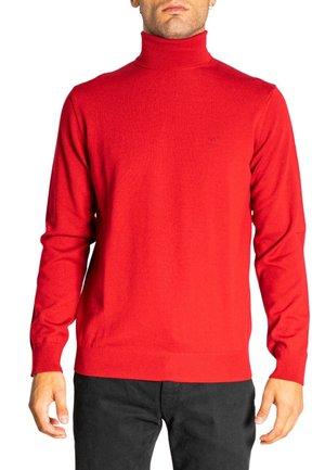 COLLO ALTO  - Jumper - red