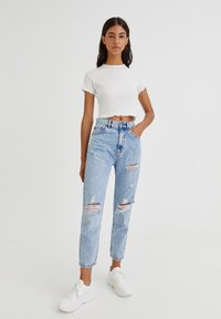 PULL&BEAR - Relaxed fit jeans - blue - 1