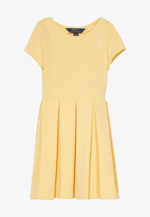 SOLID DRESSES - Jersey dress - empire yellow