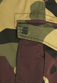 G-Star - ROVIC ZIP RELAXED - Shorts - olive/brown/beige - 6