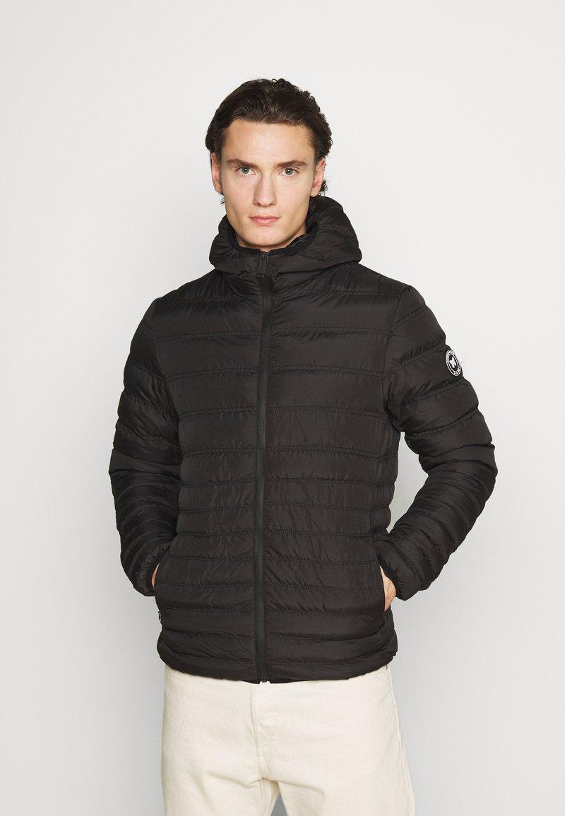 Good For Nothing - LOFTON PUFFER - Light jacket - black