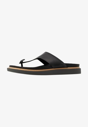 TRACE SHORE - Infradito - black