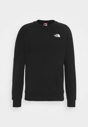 RAGLAN REDBOX CREW NEW  - Sweatshirt - black/white