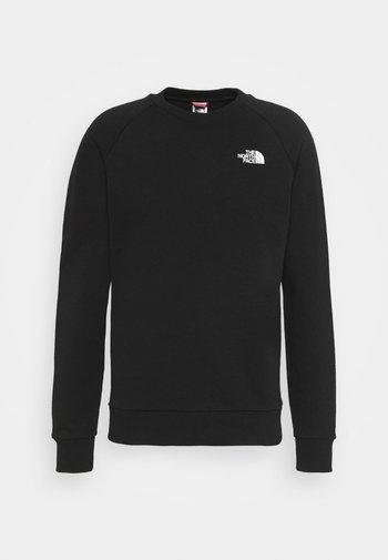 RAGLAN REDBOX CREW NEW  - Sweatshirt - black/white