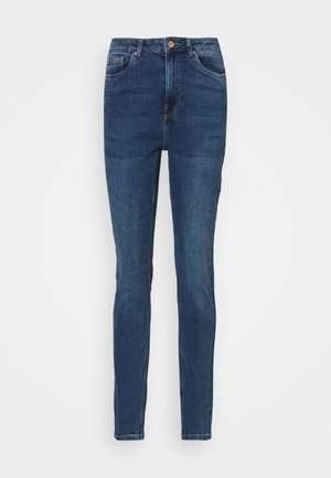 VMJOANA MOM  - Džíny Slim Fit - medium blue denim