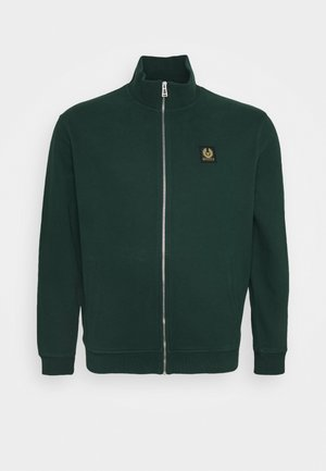 ZIP THROUGH - Zip-up hoodie - pine