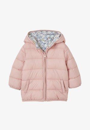 MIT KAPUZE - Winter jacket - light pink/multi-coloured
