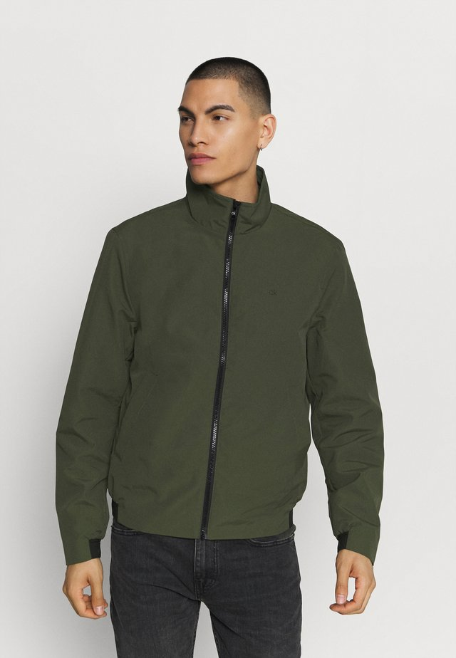 CASUAL BLOUSON JACKET - Summer jacket - green
