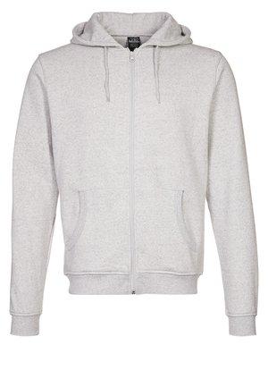 veste en sweat zippée - grau