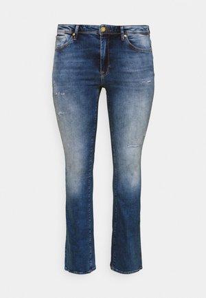 CARBAROLL LIFE - Bootcut jeans - medium blue denim