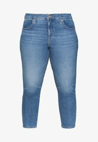 Levi's® Plus - 311 SKINNY ANKLE ZIP - Skinny-Farkut - new york blue plus - 5