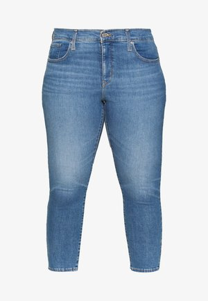 311 SKINNY ANKLE ZIP - Skinny džíny - new york blue plus