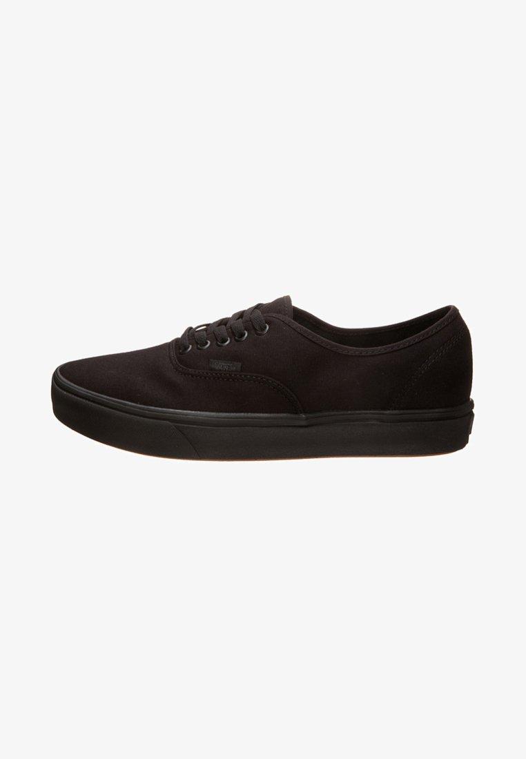 Vans - AUTHENTIC COMFYCUSH - Skate shoes - schwarz