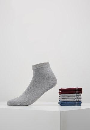 7 PACK - Ponožky - bordeaux