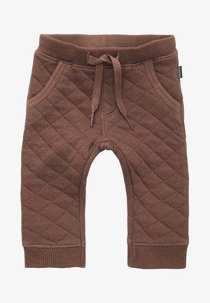 RAVENNA - Tracksuit bottoms - cacoa brown