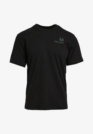 FELTON  - Basic T-shirt - blk/botnic