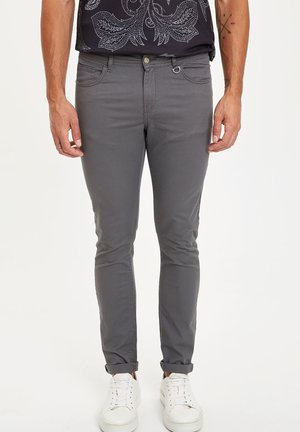 MAN - Trousers - grey