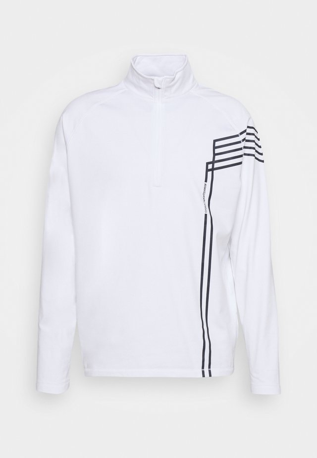 LINE T NECK - Sweatshirt - white