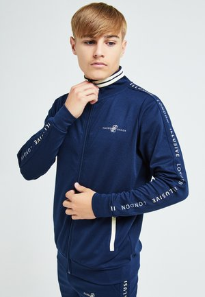ILLUSIVE LONDON - Chaqueta de entrenamiento - navy & cream