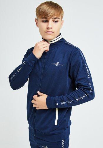 ILLUSIVE LONDON - Training jacket - navy & cream