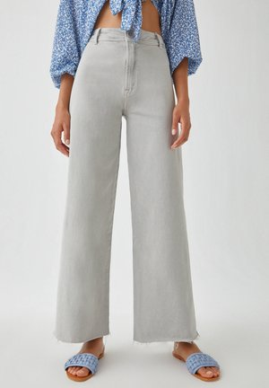 Flared Jeans - grey