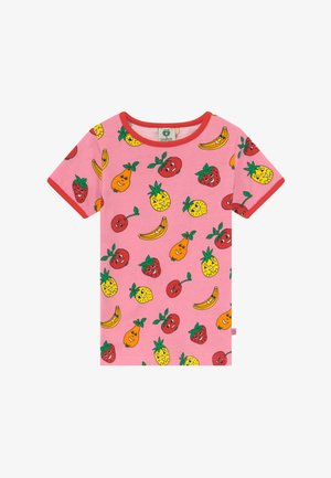 FRUITS - T-shirt con stampa - sea pink