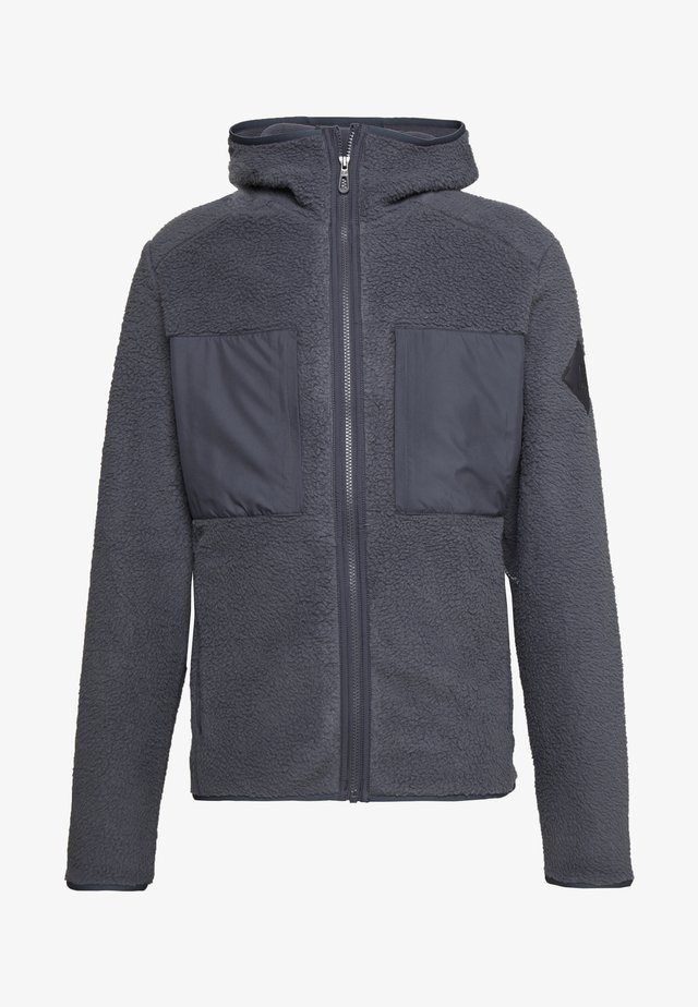 SNOWSHELTER TED HOODIE - Veste polaire - ebony