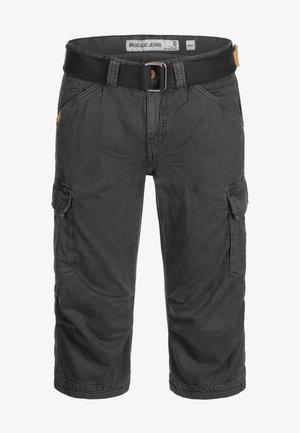 MIT GÜRTEL NICOLAS - Shorts - black
