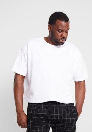 BASIC TEE PLUS SIZE - T-shirt basique - white