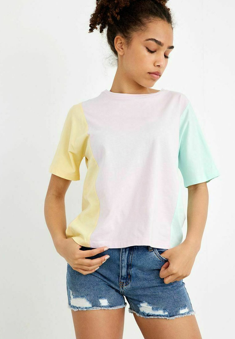 LMTD - Denim shorts - light blue denim